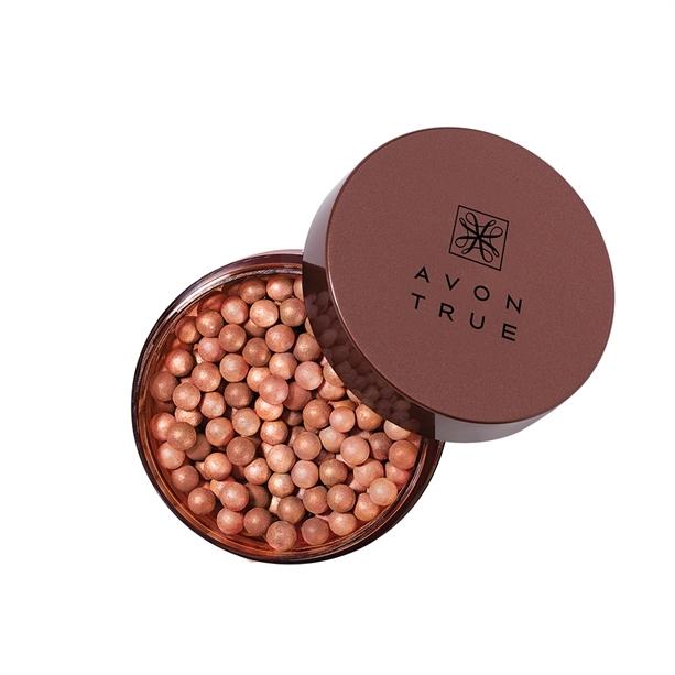 Avon Bronzové tónovací perly True (Bronzing Pearl Powder) 22 g Deep Bronze