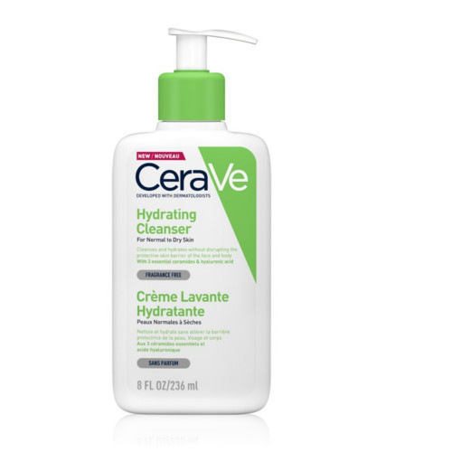 CeraVe Čisticí emulze s hydratačním účinkem (Hydrating Cleanser) 236 ml