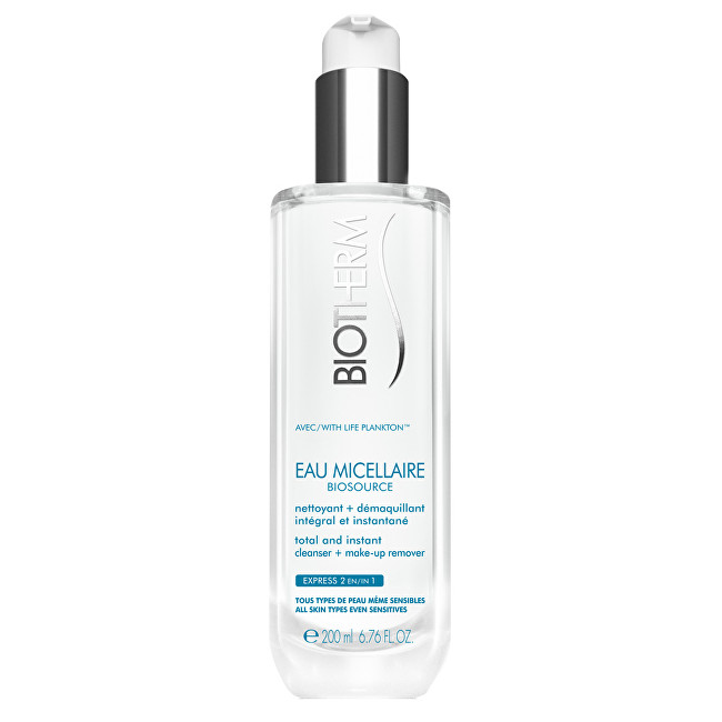 Biotherm Čisticí micelární voda Biosource Eau Micellaire (Total & Instant Cleaner Make-Up Remover) 200 ml
