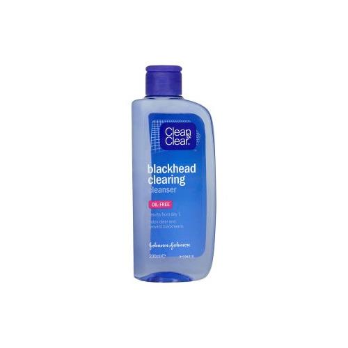 Clean & Clear Čisticí pleťová voda proti černým tečkám (Black Head Clearing) 200 ml