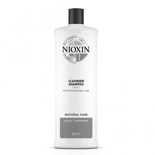 Nioxin Čisticí šampon pro jemné mírně řídnoucí přírodní vlasy System 1 (Shampoo Cleanser System 1) 300 ml