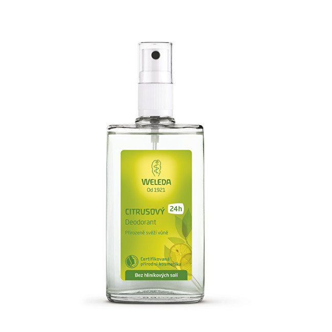 Weleda Body Care Citrus deospray 100 ml