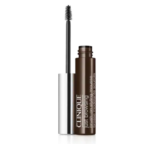 Clinique Tónovacie 24H farba na obočie Just Browsing (Brush-On Styling Mousse) 2 ml Black brown