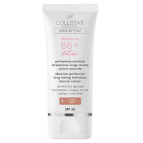 Collistar BB tónovací hydratačný krém Magic a BB + Detox SPF 20 ( Hydration Natura l Colour Cream) 50 ml 3 Deep