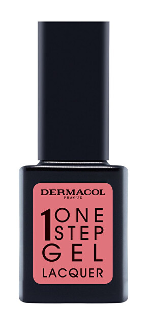 Dermacol Gélový lak na nechty One Step Gel Lacquer (Nail Polish) 11 ml 01 First Date