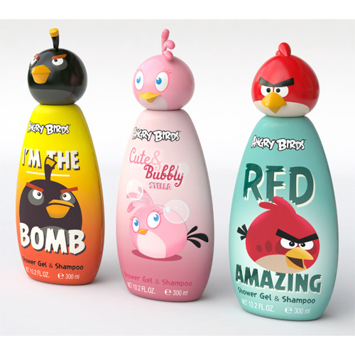EP Line Disney Angry Birds šampon 2 v 1 pro děti 300 ml I´m The Bomb