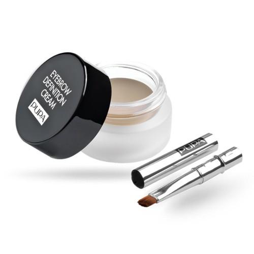 Pupa Dlouhotrvající krém na obočí (Eyebrow Definition Waterproof Cream) 2,7 ml 001 Ash