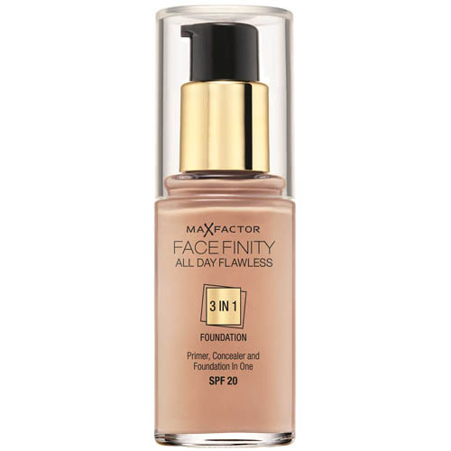 Dlhotrvajúci make-up Facefinity 3 v 1 (All Day Flawless) 30 ml 60 Sand