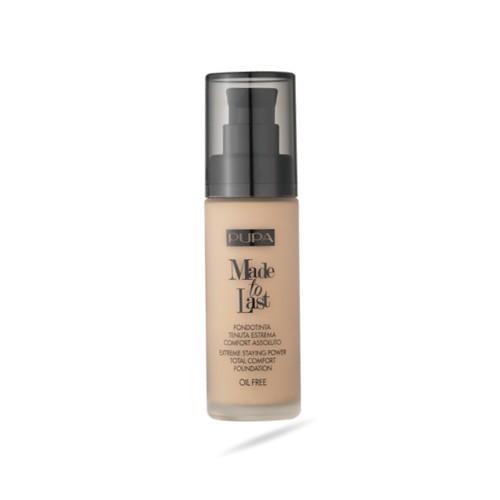 Pupa Dlouhotrvající tekutý make-up SPF 10 Made To Last (Total Comfort Foundation) 30 ml 002 Ivory