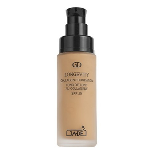 GA-DE Dlouhotrvající tekutý make-up s kolagenem SPF 20 (Longevity Collagen Foundation SPF 20) 30 ml No. 500  Ivory Beige