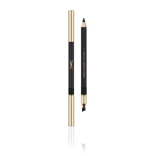 Yves Saint Laurent Dlouhotrvající tužka na oči Dessin Du Regard (Lasting High Impact Color Eye Pencil) 1,25 ml 01 Noir Volage