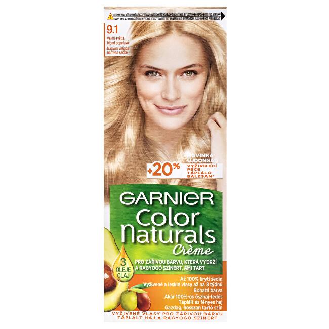 Garnier Dlouhotrvající vyživující barva na vlasy (Color Naturals Creme) 2.10 Modročerná