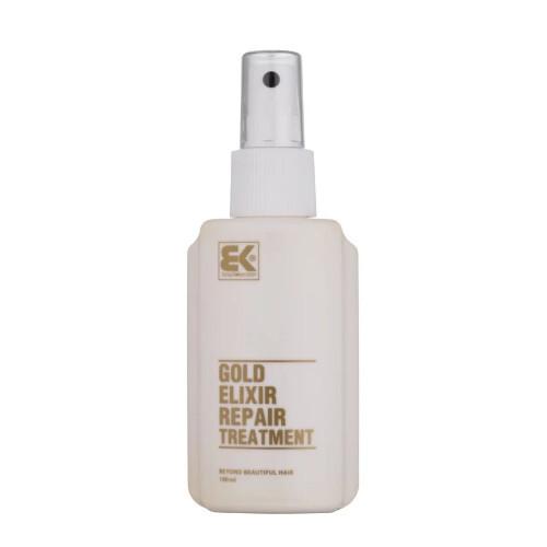 Brazil Keratin Elixír pro suché a poškozené vlasy (Gold Elixir Repair Treatment) 100 ml