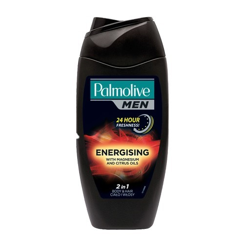 Palmolive Energizujúci sprchovací gél pre mužov 3v1 na telo a vlasy For Men (Energising 3 In 1 Body, Hair, Face Shower Shampoo) 500 ml