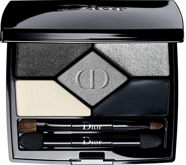 Dior Exkluzivní oční stíny 5 Couleurs Designer (All-In-One Professional Eye Palette) 5,7 g 008 Smoky