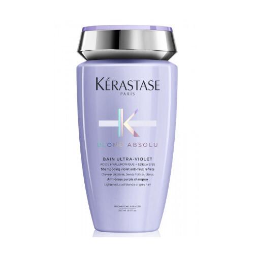 Kérastase Fialový šampon pro studené odstíny blond vlasů Blond Absolu Bain Ultra Violet(Anti-Brass Purple Shampoo) 250 ml