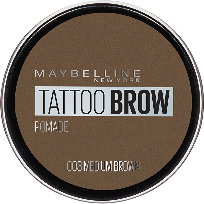 Maybelline Gel pentru sprâncene Tattoo Brow (Pomade) 4 g 04 Ash Brown