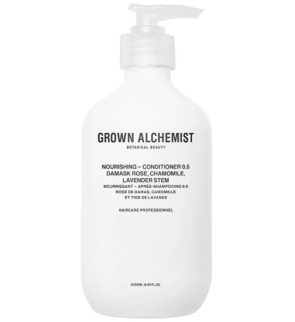 Grown Alchemist Vyživující kondicionér Damask Rose, Chamomile, Lavender Stem (Nourishing Conditioner) 500 ml