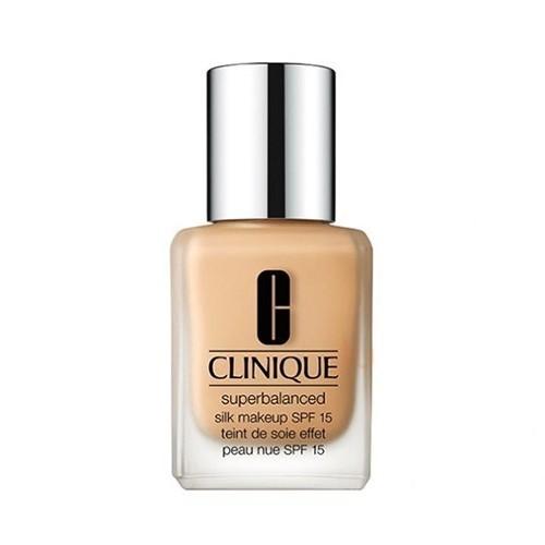 Clinique Superbalanced selymesen gyengéd alapozó vegyesés zsíros bőrre SPF 15 (Silk Make-Up) 30 ml 05 Silk Ivory
