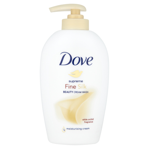 Dove Hodvábne tekuté mydlo Supreme Fine Silk (Beauty Cream Wash) 250 ml