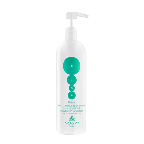 Kallos Hloubkově čisticí šampon pro mastné vlasy a vlasovou pokožku KJMN (Deep-Cleaning Shampoo) 1000 ml