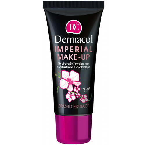 Dermacol Hydratační make-up s výtažkem z orchideje (Imperial Make-up Orchid Extract) 30 ml 4 Tan