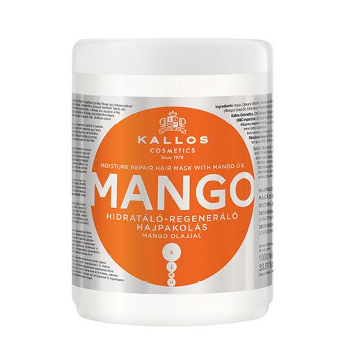 Kallos Hydratační maska s mangovým olejem (Mango Mask) - SLEVA - poškozená etiketa 1000 ml
