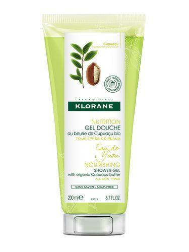Klorane Intenzivně hydratační sprchový gel s extraktem z yuzu (Nourishing Shower Gel) 200 ml
