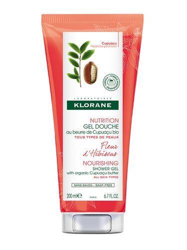 Klorane Intenzivně vyživující sprchový gel s květy ibišku (Nourishing Shower Gel) 400 ml