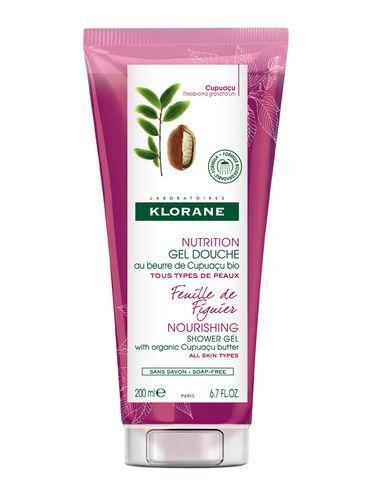 Klorane Intenzivně vyživující sprchový gel s listy fíkovníku (Nourishing Shower Gel) 400 ml