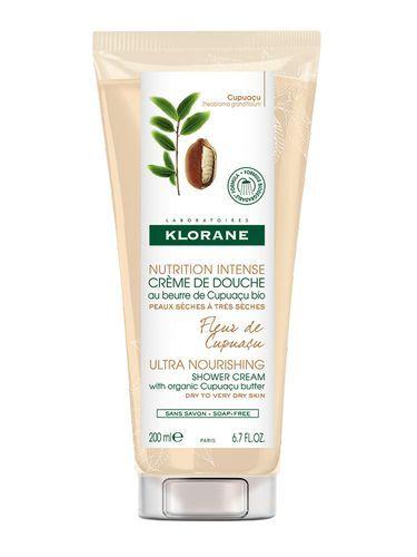 Klorane Intenzívne vyživujúci sprchový krém s kvetmi Cupuacu ( Ultra Nourishing Shower Cream)