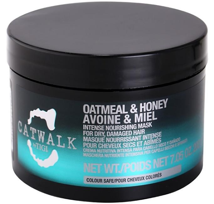 Tigi Intenzivní vyživující maska pro suché a poškozené vlasy Catwalk Oatmeal & Honey (Intense Nourishing Mask) 200 g