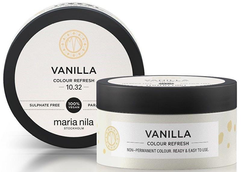 Maria Nila Jemná vyživující maska bez permanentních barevných pigmentů Vanilla (Colour Refresh Mask) 100 ml