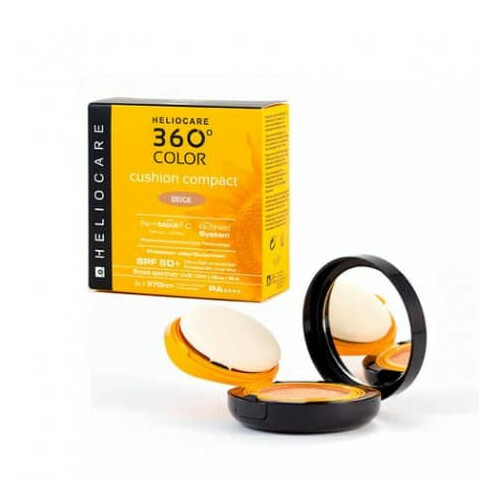 Heliocare Kompaktný make-up v hubke SPF 50  360° Color (Cushion Compact) 15 g Beige