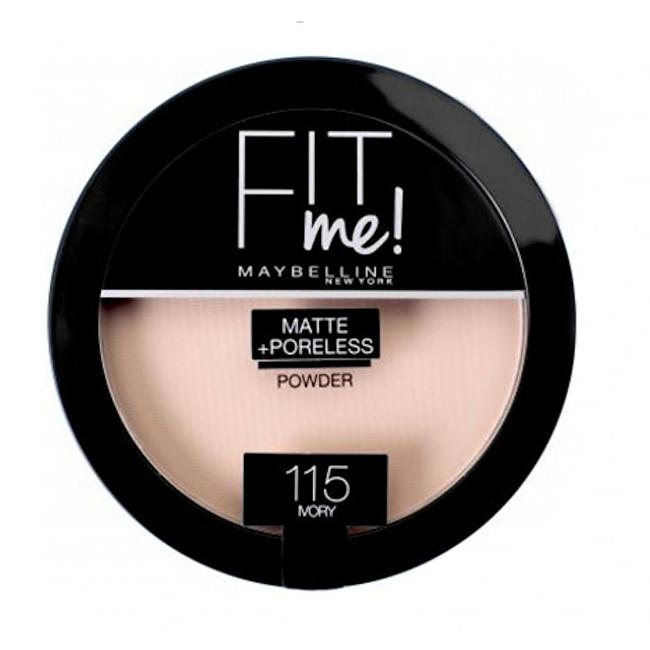 Maybelline Kompaktný zmatňujúci púder Fit Me (Matte & Poreless Powder) 14 g 110 Fair Ivory