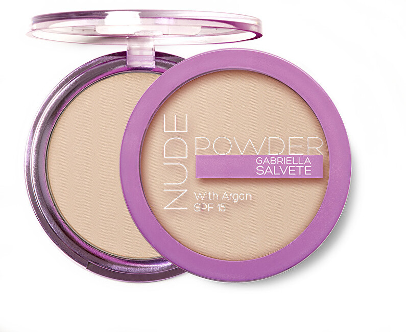 Gabriella Salvete Kompaktný púder Nude Powder with Argan SPF 15 8 g 01