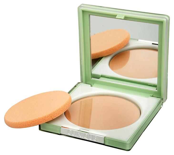 Clinique Kompaktný púder pre dlhotrvajúci matný vzhľad (Stay-Matte Sheer Pressed Powder) 7,6 g 04 Stay Honey