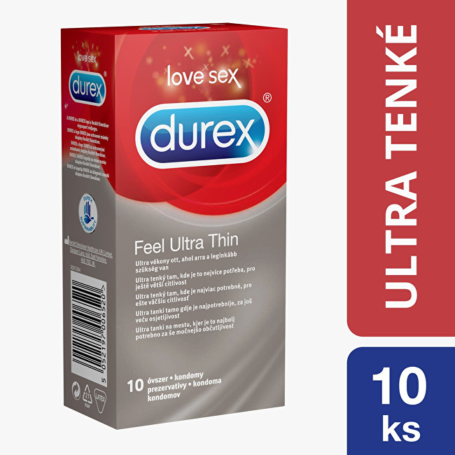 Durex Kondomy Feel Ultra Thin 10 ks