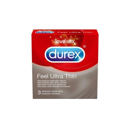 Durex Kondomy Feel Ultra Thin 10 ks