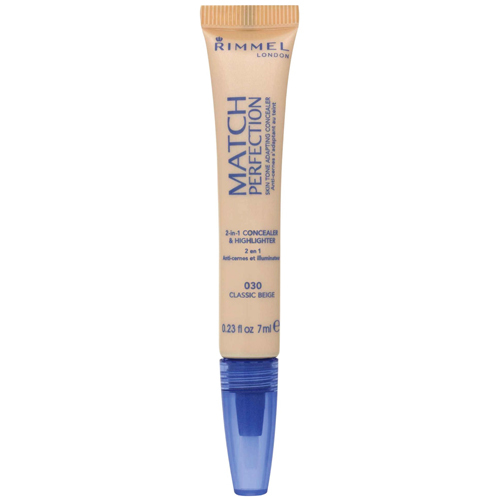 Rimmel Korektor a rozjasňovač 2 v 1 Match Perfection 7 ml 030 Classic Ivory