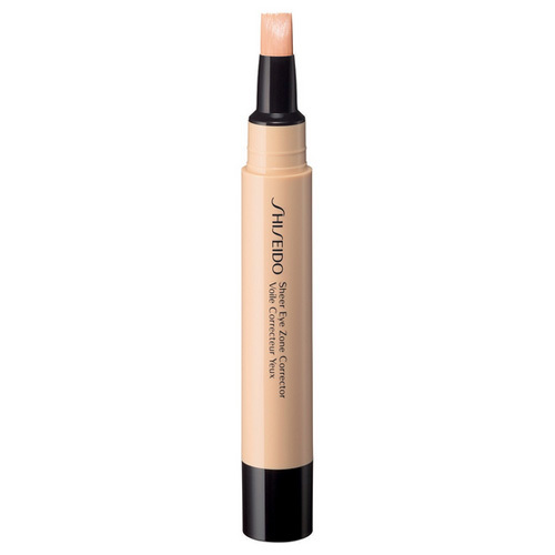 Shiseido Korektor pro oční zónu (Sheer Eye Zone Corrector) 3,8 ml 102 Light