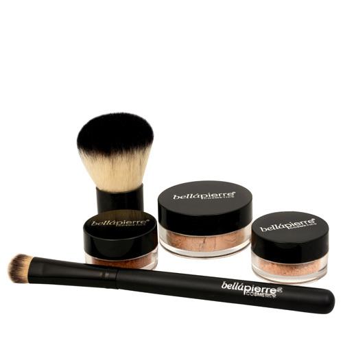 Bellápierre Kosmetická sada All Over Face (Contour and Highlighting Kit) Deep