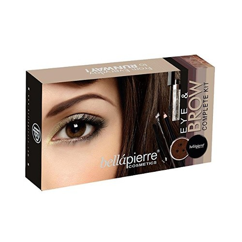 Bellápierre Kosmetická sada na oči a obočí (Eye & Brow Complete Kit) Ebony