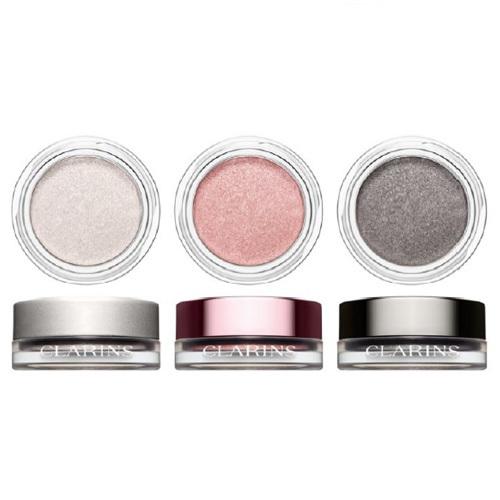 Clarins Krémovo-pudrové oční stíny Ombre Iridescente (Eye Shadow) 7 g 10 Silver Grey