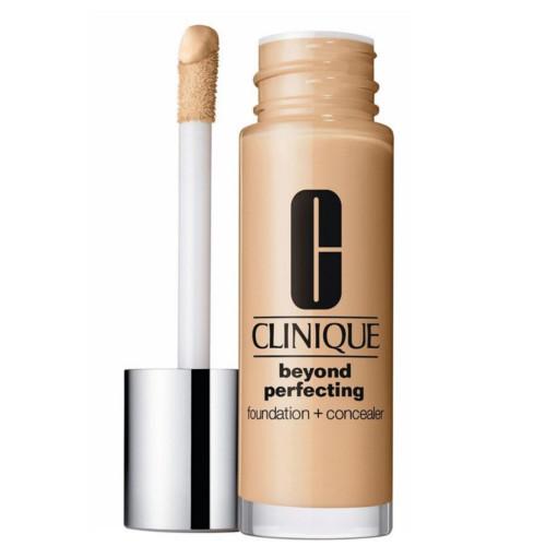 Clinique Ľahký hydratačný make-up a korektor v jednom (Beyond Perfecting Foundation + Concealer) 30 ml 04 Creamwhip