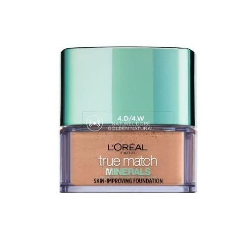 L´Oréal Paris Ľahký minerálny púdrový make-up True Match (Skin Improving Foundation) 10 g 6N Honey