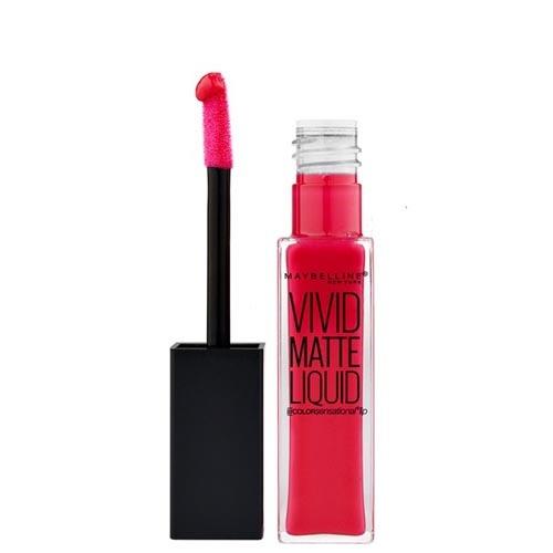 Maybelline Lip glossVivid Matte Liquid Color Sensational (Lip Gloss) 8 ml 40 Berry Boost