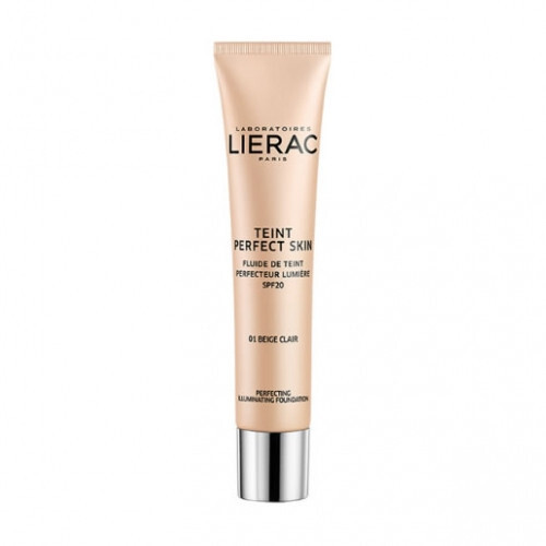 Lierac Tekutý rozjasňující makeup SPF 20 Teint Perfect Skin Illuminating Foundation 30 ml 04 Bronze