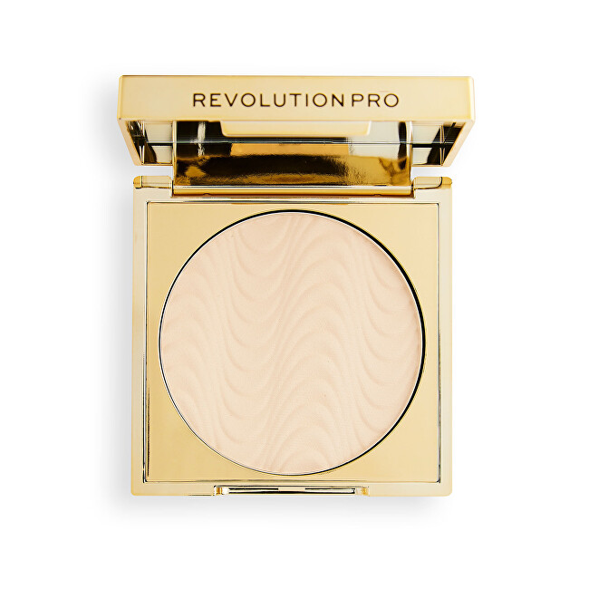 Revolution PRO Lisovaný pudr CC Perfecting Pressed Powder 5 g Warm Maple
