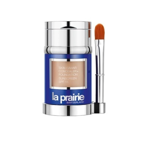 La Prairie Luxusní tekutý make-up s korektorem SPF 15 (Skin Caviar Concealer Foundation) 30 ml Porcelain Blush